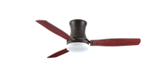 "Picture of Modernaire 52"" Oil Rubbed Bronze Ceiling Fan and Light"