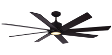 Picture of Northstar 60 in. Oil Rubbed Bronze Ceiling Fan with LED Light