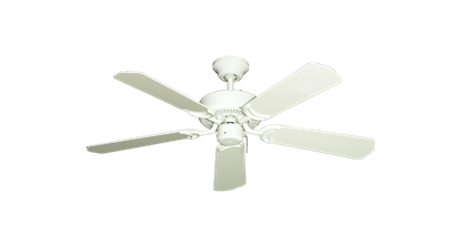 "42"" Porch Fan in Pure White"