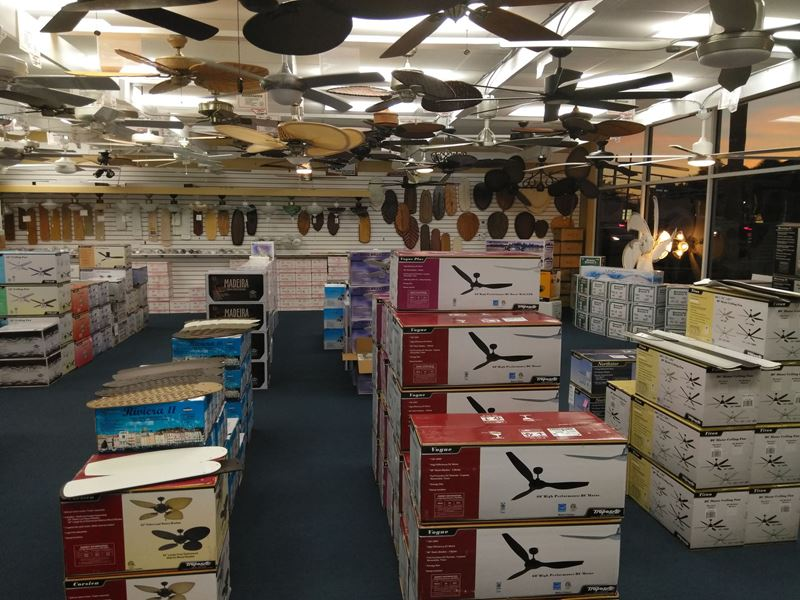 Additional Picture Ceiling Fan Store Interior Ft. Lauderdale, FL