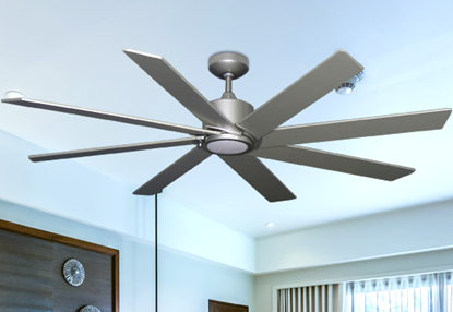 Picture of Northstar 60 in. Brushed Nickel-1 Ceiling Fan with LED Light (bn-1)