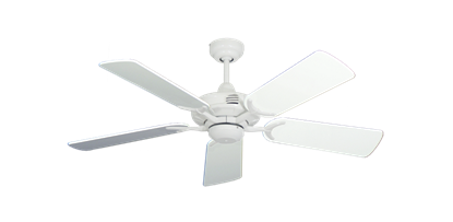 "Picture of Coastal Air Pure White with 44"" Pure White Gloss Blades"