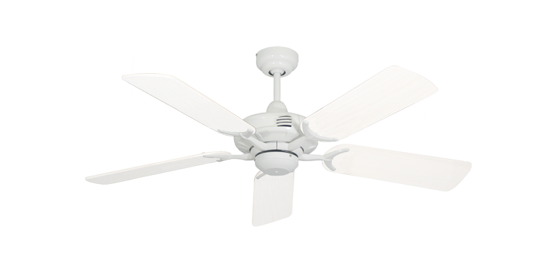 "Picture of Coastal Air Pure White with 44"" Outdoor Pure White Blades"