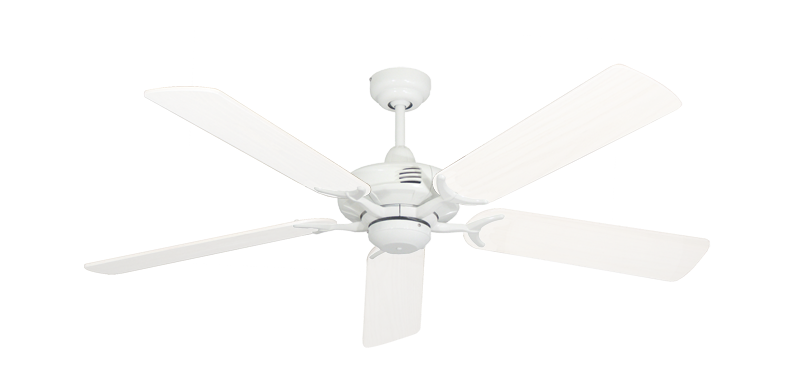 "Picture of Coastal Air Pure White with 52"" Outdoor Pure White Blades"
