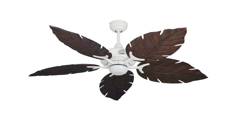 """Coastal Air Pure White with 52"""" Venetian Oil Rubbed Bronze Blades"""
