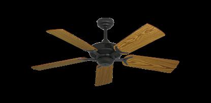 "Coastal Air Oil Rubbed Bronze with 44"" Oak Blades"