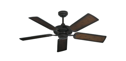 "Picture of Coastal Air Oil Rubbed Bronze with 44"" Distressed Hickory Blades"