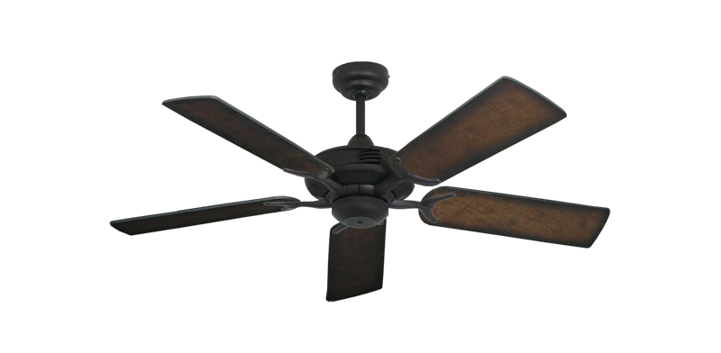 """Picture of Coastal Air Oil Rubbed Bronze with 44"""" Distressed Hickory Blades"""
