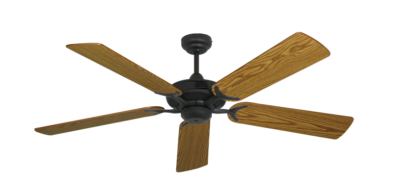 "Picture of Coastal Air Oil Rubbed Bronze with 52"" Oak Blades"