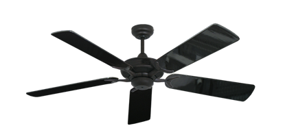 "Picture of Coastal Air Oil Rubbed Bronze with 52"" Black Gloss Blades"
