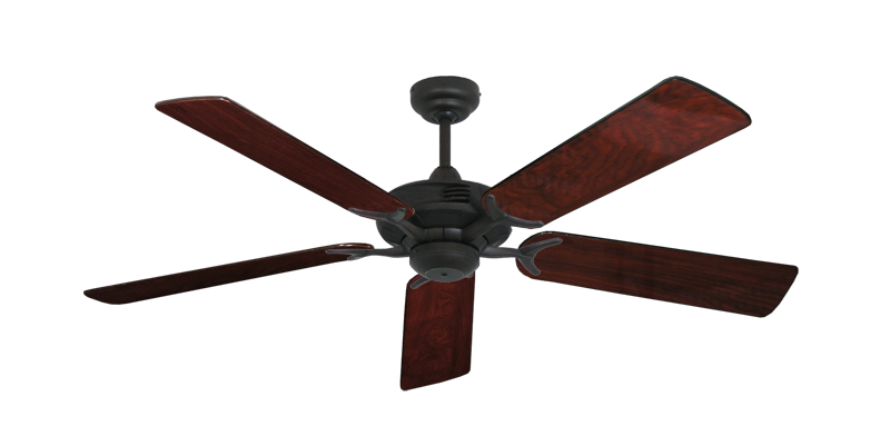 "Picture of Coastal Air Oil Rubbed Bronze with 52"" Cherrywood Gloss Blades"