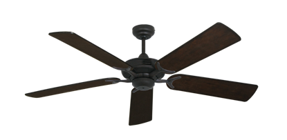 "Picture of Coastal Air Oil Rubbed Bronze with 52"" Distressed Walnut Blades"