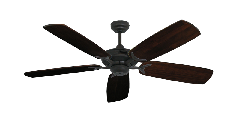 "Picture of Coastal Air Oil Rubbed Bronze with 52"" Series 425 Arbor Cherrywood Blades"