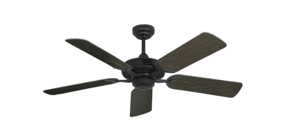 "Coastal Air Oil Rubbed Bronze with 44"" Outdoor Oil Rubbed Bronze Blades"