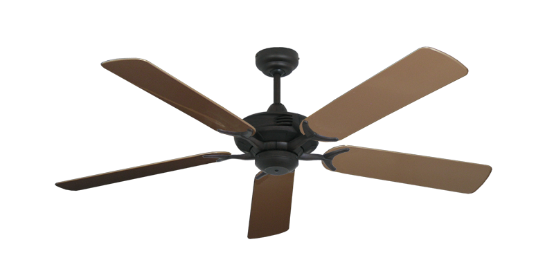 "Picture of Coastal Air Oil Rubbed Bronze with 52"" Outdoor Brown Blades"