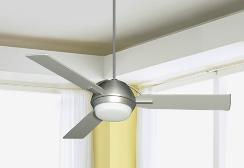 Picture of Enterprise 52 in. Satin Steel Ceiling Fan with Light