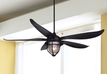 Picture of St. Augustine 59 in. Indoor/Outdoor Oil Rubbed Bronze Ceiling Fan with Light