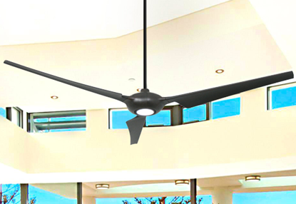 Ion 76 in. WiFi Enabled Indoor/Outdoor Oil Rubbed Bronze Ceiling Fan with 15W LED Light and Remote Control