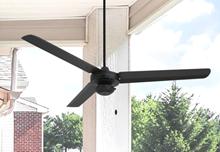 Tornado 56 in. Indoor/Outdoor Oil Rubbed Bronze Ceiling Fan
