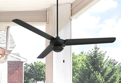 Tornado 56 in. Indoor/Outdoor Oil Rubbed Bronze Ceiling Fan