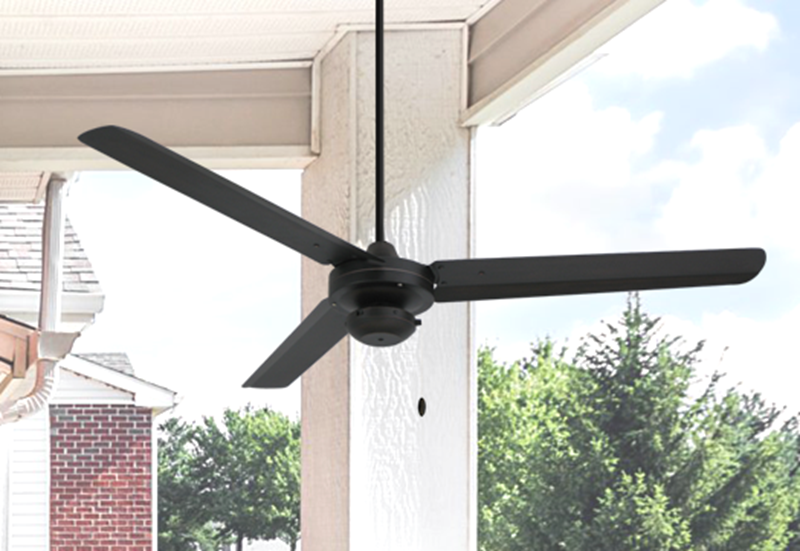 Picture of Tornado 56 in. Indoor/Outdoor Oil Rubbed Bronze Ceiling Fan