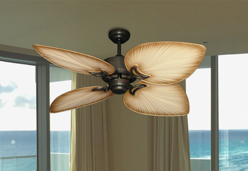 "Picture of Bombay Oil Rubbed Bronze with 50"" Bombay Tan Blades"