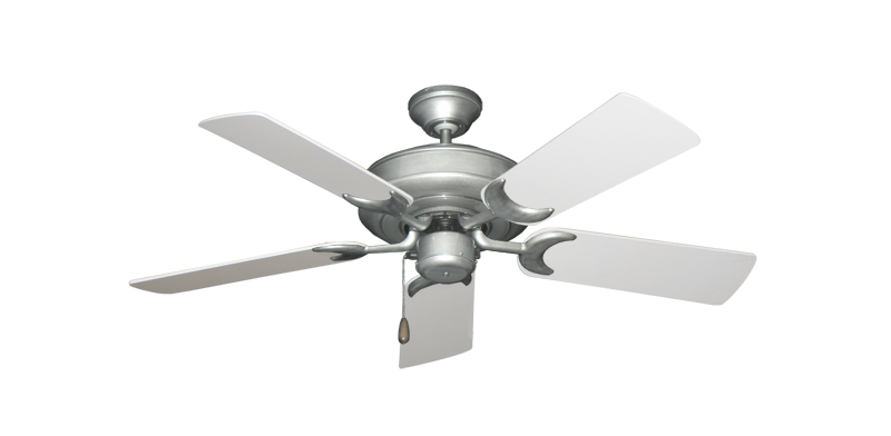 "Picture of Raindance Brushed Nickel BN-1 with 44"" Pure White Blades"