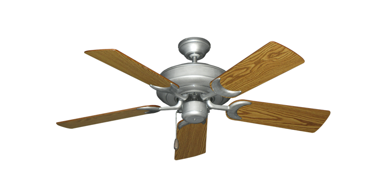 "Picture of Raindance Brushed Nickel BN-1 with 44"" Oak Blades"