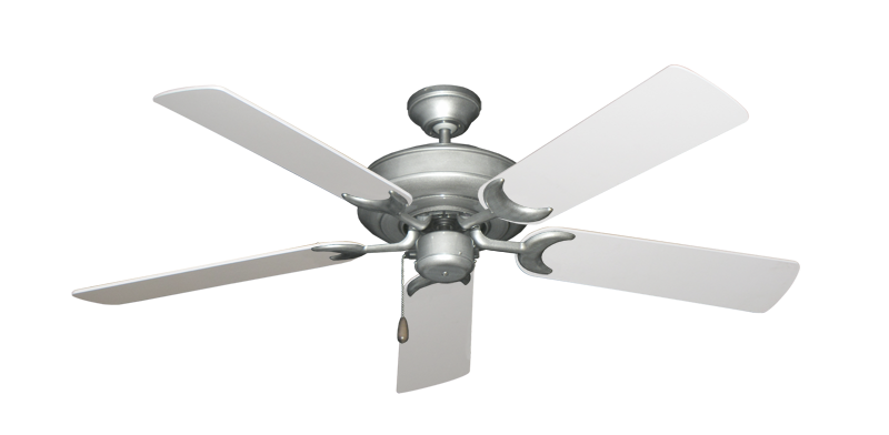 "Picture of Raindance Brushed Nickel BN-1 with 52"" Pure White Blades"