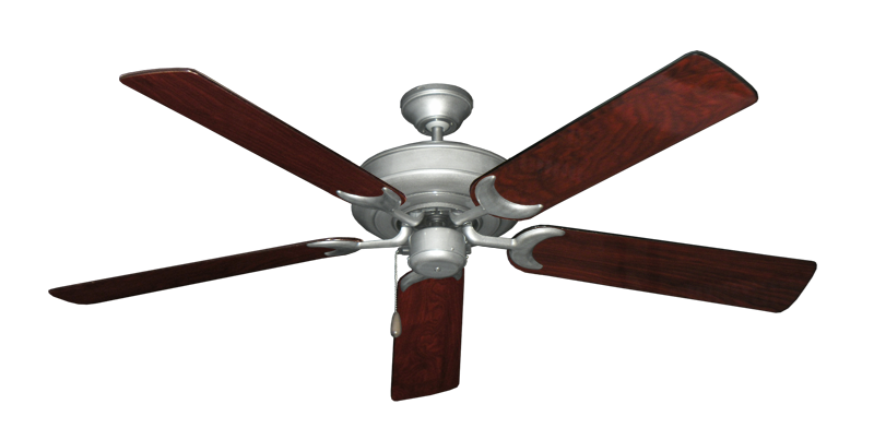 "Picture of Raindance Brushed Nickel BN-1 with 56"" Cherrywood Gloss Blades"