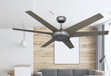 Picture of Elegant 60 in. Indoor/Outdoor Brushed Nickel Ceiling Fan