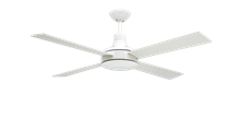 "Picture of Quantum II 52"" Pure White Ceiling Fan with Remote"