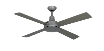 Quantum II 52 in. Brushed Nickel BN-1 Ceiling Fan w/Remote