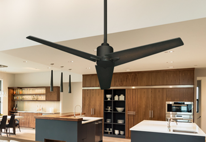 "Reveal 52"" WiFi Enabled Indoor/Outdoor Modern Ceiling Fan in Oil Rubbed Bronze with Remote"