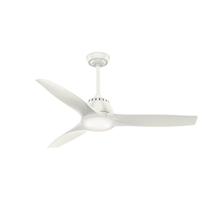 "Picture of Casablanca  52"" Wisp Fresh White Ceiling Fan with LED Light and Handheld Remote, Model 59284"