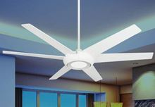 Elegant II 60 in. WiFi Enabled Indoor/Outdoor Pure White Ceiling Fan and Light