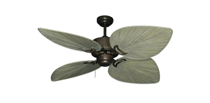 "Picture of Bombay Oil Rubbed Bronze with 50"" Bombay Driftwood Blades"