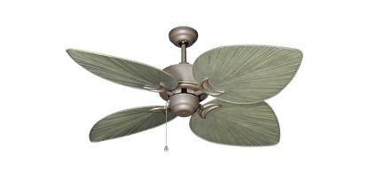 """Bombay Antique Bronze with 50"""" Bombay Driftwood Blades"""