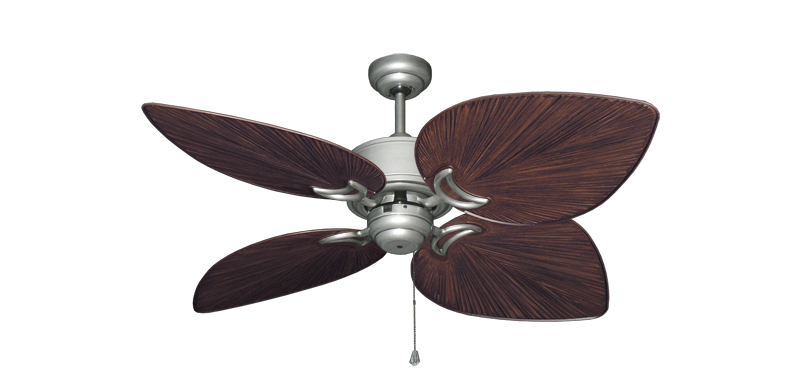 "Picture of Bombay Brushed Nickel (BN-1) with 50"" Bombay Oil Rubbed Bronze Blades"