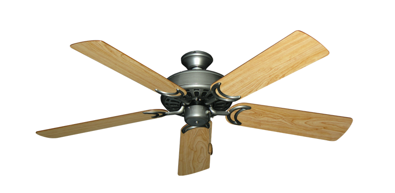 """Picture of Dixie Belle Brushed Nickel with 52"""" Maple Blades"""
