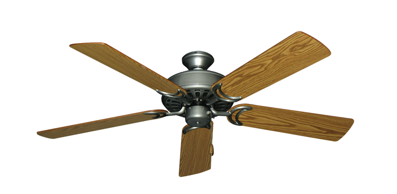 "Picture of Dixie Belle Brushed Nickel with 52"" Oak Blades"