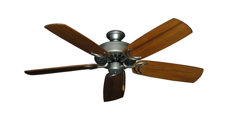 """Picture of Dixie Belle Brushed Nickel with 52"""" Series 425 Arbor Oak Blades"""