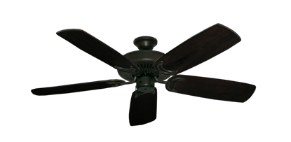 """Picture of Riviera Oil Rubbed Bronze with 52"""" Series 425 Arbor Dark Walnut Blades"""