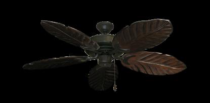 """Raindance Oil Rubbed Bronze with 52"""" Series 125 Arbor Dark Walnut Blades"""