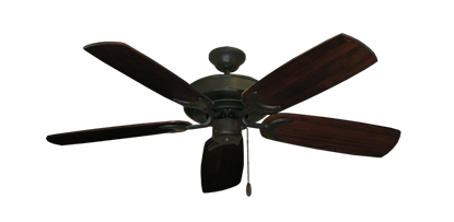 "Picture of Raindance Oil Rubbed Bronze with 52"" Series 425 Arbor Cherrywood Blades"