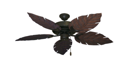 "Raindance Oil Rubbed Bronze with 52"" Venetian Oil Rubbed Bronze Blades"