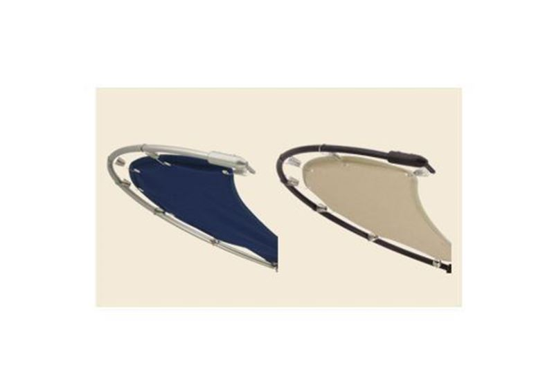 Picture of Twinstar Nautical Oil Rubbed Bronze with Blue Canvas Blade Set