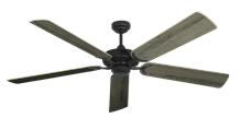 """Picture of Coastal Air Oil Rubbed Bronze with 60"""" Beachwood Blades"""