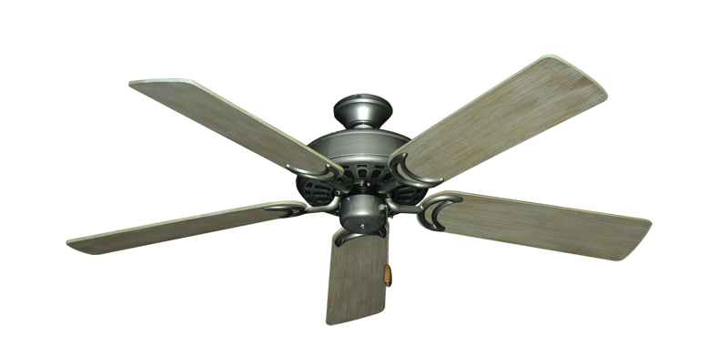 """Picture of Dixie Belle Brushed Nickel with 52"""" Driftwood Blades"""