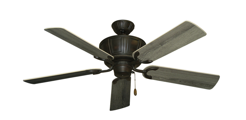 """Picture of Centurion Oil Rubbed Bronze with 52"""" Barnwood Blades"""